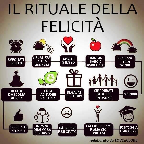 rituale della felicità